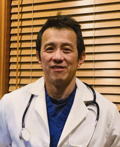 Dr. Ming Lin was fired from his job an emergency room doctor at PeacHealth St. Joseph Medical Center in Bellingham, Wash., after publicly criticizing the hospital's coronavirus preparations. [Dr. Ming Lin via AP]