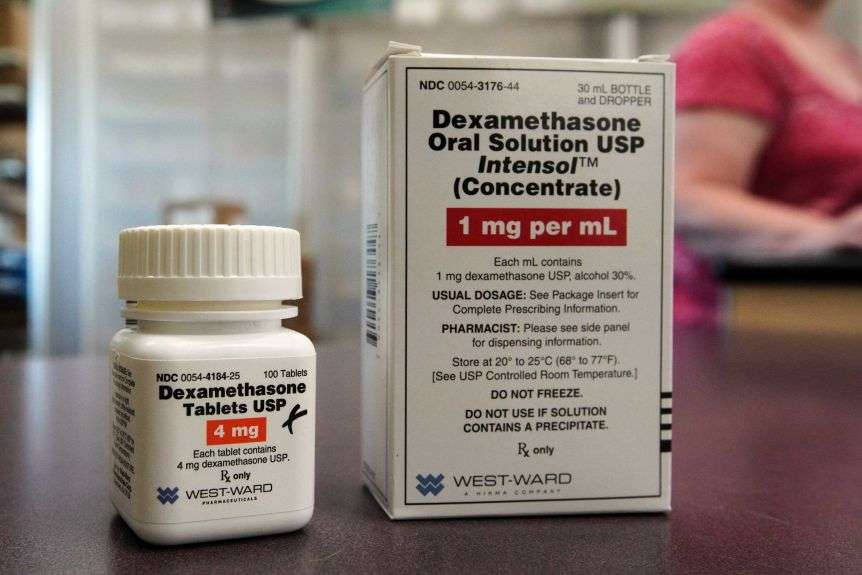 Dexamethasone is commonly used to reduce inflammation in diseases such as arthritis.(AP: Nati Harnik)