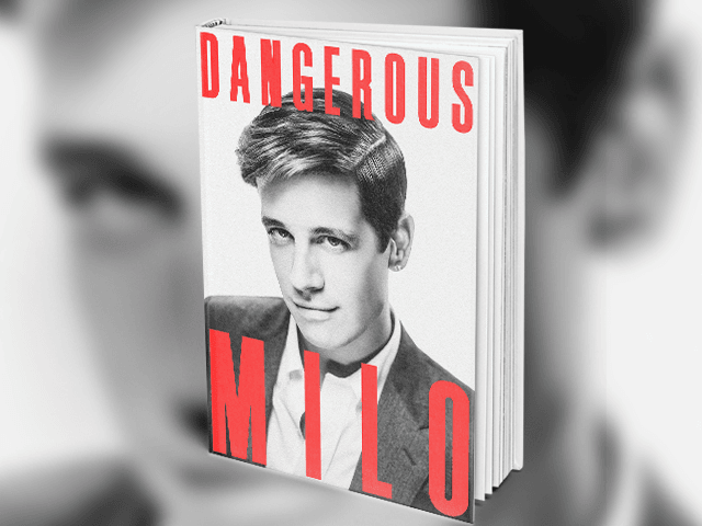 Former Breitbart Senior Editor Milo Yiannopoulos' book Dangerous hit #2 on the New York Times' Non-fiction Best Seller