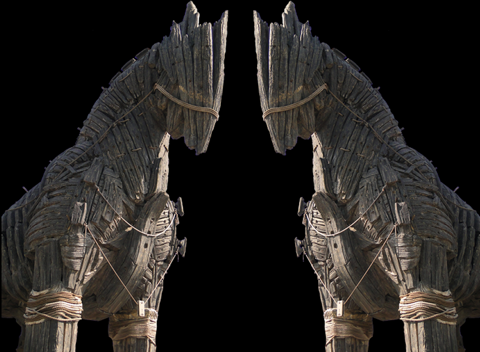 The TROJAN Horse to usher a World System Without God