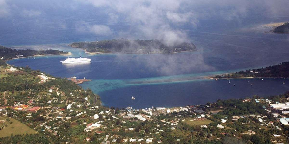 China has allegedly approached leaders on the Pacific island of Vanuatu about building a naval base. Photo: Twitter
