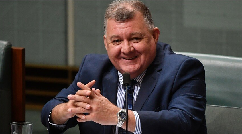 The federal member for Hughes, Craig Kelly