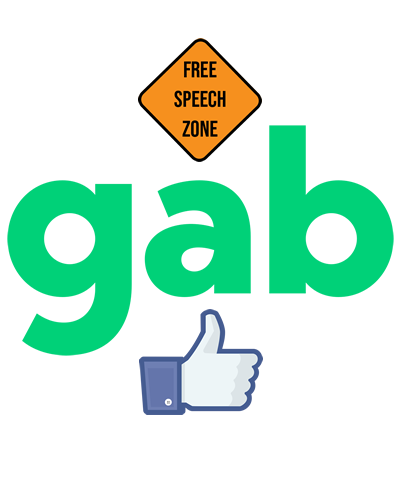 GAB a Social Media Blog Platform with message chat