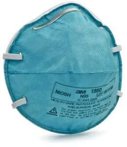 3M™ Health Care Particulate Respirator and Surgical Mask 1860, N95