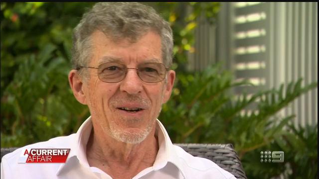 Professor Ian Frazer helped create the HPV vaccine (A Current Affair)
