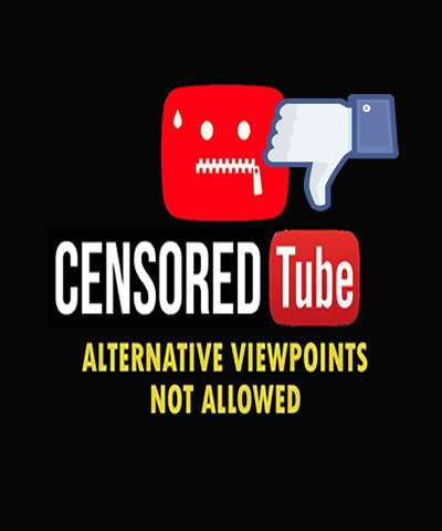 YOUTUBE A Serious Violators of the 1st Amendment