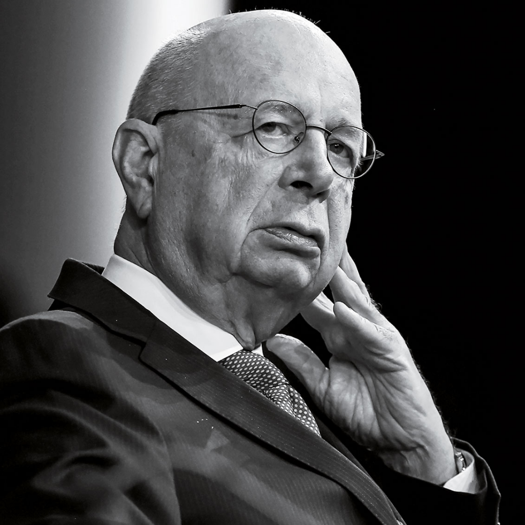 Klaus Schwab, founder and executive chairman of the World Economic Forum. Khalil Masraawi—AFP/Getty Images