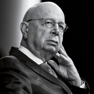 Klaus Schwab, founder and executive chairman of the World Economic Forum.