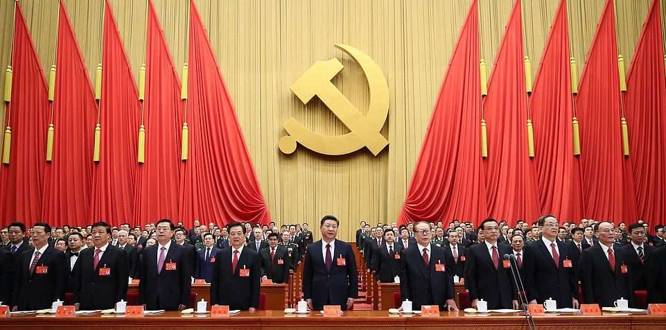 President Xi Jinping at a CCP sessio