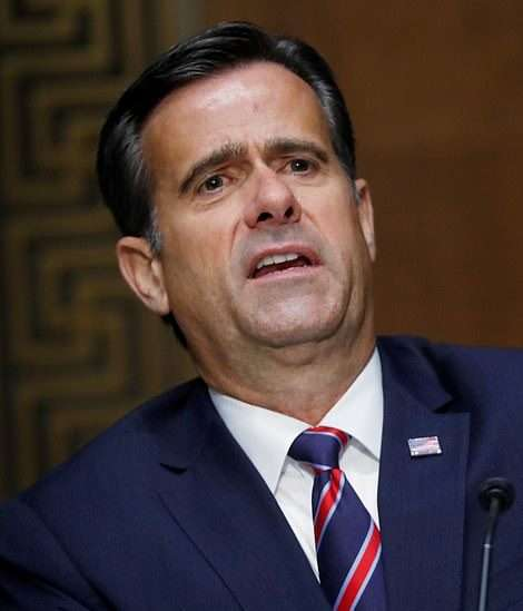 John Ratcliffe the US Director of National Security